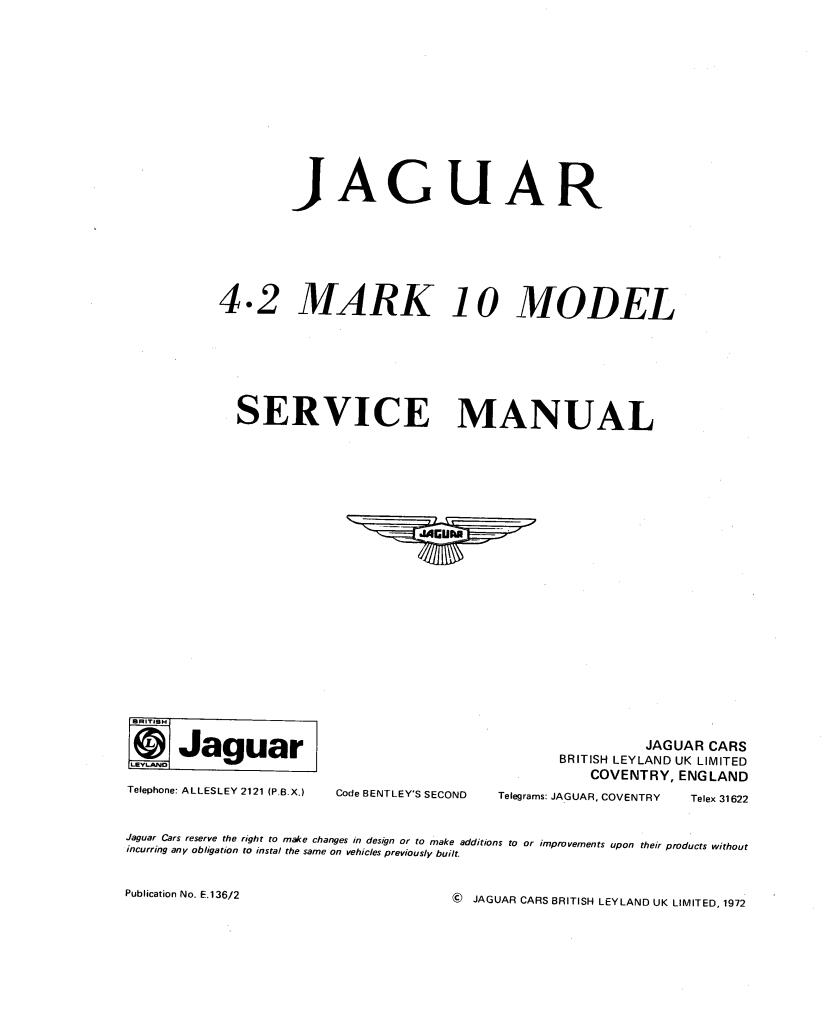 4 2 Mk10 Service Manual Pdf  32 3 Mb